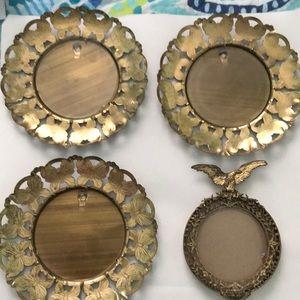 4 vintage frames